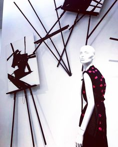 "SAKS FIFTH AVENUE, Boston, ""Fashion as Art"", for Bruno Cucinelli, photo by (@miscellanyseven), pinned by Ton van der Veer"