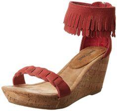 Minnetonka Women's Nicki Wedge Sandal,Coral,5 M US Minnetonka http://www.amazon.com/dp/B00E837CXS/ref=cm_sw_r_pi_dp_tshRtb0RFBGTPPZ3