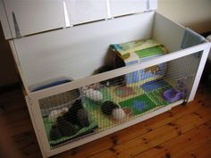 diy rabbit cage - Google Search