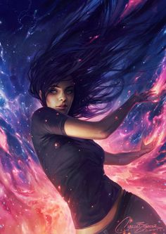 A Sky Full Of Stars by Charlie-Bowater.deviantart.com on @deviantART // Rain //