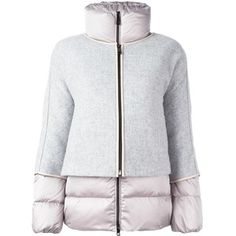 Fay zipped puffer jacket