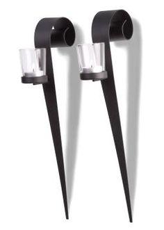 Ber ideen zu wandkerzenhalter auf pinterest kerzenhalter wand kerzenleuchter und metalle - Wandkerzenhalter schwarz ...