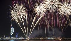 Gunwharf Quays Fireworks Display  9/11