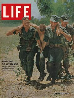 Viet Nam.....we heard about this daily, tv and magazines, also some of my classmates had brothers or other family members serving in the military.