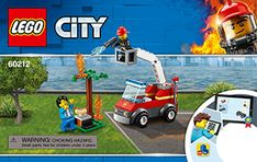 Barbecue Burn Out 60212 - LEGO City Fire - Digital Building Instructions - LEGO.com