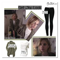 """""""Hanna Marin   Get the Look #2"""" by faith-292 on Polyvore featuring 2LUV"""