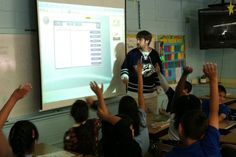 Don't have a SmartBoard, but do have an LCD projector?  Make your own for less than $100!  Hmm...
