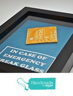 In Case of Emergency Break Glass - Condom Gift - Sex Lover Gift, Gift for Him, Gag Gift, Gift for Husband, Men, Gift for Boyfriend Valentine from Daisy Chain Online https://smile.amazon.com/dp/B016SIMNEI/ref=hnd_sw_r_pi_dp_qzQIxbH394HEW #handmadeatamazon
