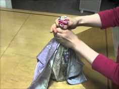 ▶ How to use Furoshiki ; for a bottle - YouTube