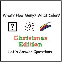 What? How Many? What Color? Adapted Book for Children with Autism  by theautismhelper.com