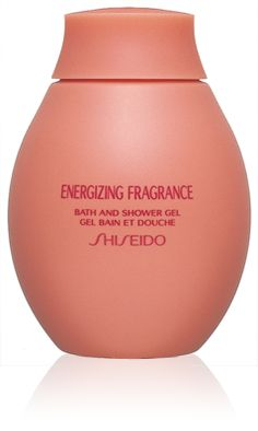 #Shiseido Energizing Fragrance Bath and Shower Gel