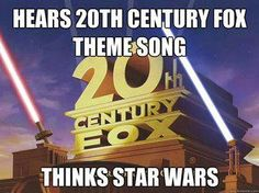 Seriously! It wasn't till my tween years that I realized that this played on other movies too, not just Star Wars.