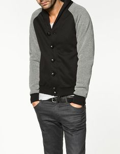 Zara College Jacket #Mens #style #fashion #shopping