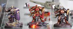 Age of Sigmar Warhammer Figures, Warhammer Aos, Warhammer Fantasy, Warhammer 40000, Stormcast Eternals, Age Of Sigmar, Fantasy Model, Fantasy Miniatures, Paint Schemes