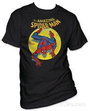 Spiderman - Spotlight Apparel T-Shirt - Black