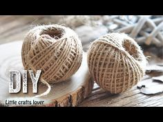 Jute Crafts, Easy Youtube, Crafts To Make, The Creator, Home Improvement, Place Card Holders, Decorating Ideas, Craft Ideas, Handmade