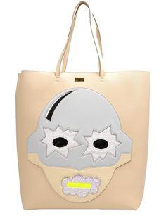 Stella McCartney New Superstellaheroes 495151 Ivory Tote Bag. Designer Handbags On Sale, Vintage Bags, Bag Sale, Travel Bags, Vegan Leather, Stella Mccartney, Dust Bag, Satchel, Pouch