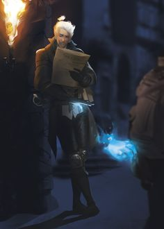 Caine, the Arcane Trickster by ssandulak