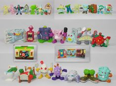 Thingz that go Bump in the Night Complete Set Monster in my Pocket Mini Figures My Pocket, Classic Toys, Bump, Night, Logos, Mini, Cards, Ebay, Vintage
