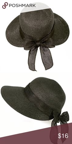 30212258e8f BOLERO FASHION SUMMER BEACH HAT SASH SOMBRERO • Brand new elegant hat
