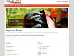 Repuestos Pardos - Piezas y repuestos http://www.repuestospardos.es/ #web #Zaragoza #Aragon
