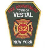 Vestal Fire Department Patch  www.setcomcorp.com/fire.html