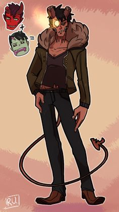 Damien + Brian = Bramien Monster Prom, Monster Girl, Sketch Inspiration, Character Design Inspiration, Mythological Creatures, Fantasy Creatures, Prom Games, Cute Monsters, Cute Gay