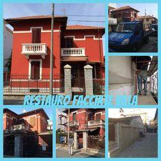 Restauro facciate villa