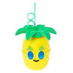 Tropical Pineapple Tumbler | Claire's