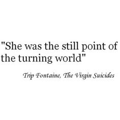 quote from virgin suicides - Google Search