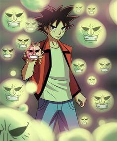 O ataque mais forte do Bucky, Baku shiha XD This is Baku's main attack baku shiha form the anime jibaku-kun XD