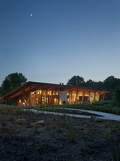 Robinson Nature Center | GWWO Architects | Archinect