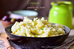 Écrasée de pommes de terre a l'huile d'olive