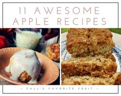 11 Awesome Apple Recipes | Just A Pinch