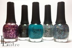 New 2013 Core Finger Paints from Sally Beauty swatches