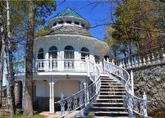 """Michigan's most expensive house for sale - a """"Great Gatsby""""-esque pastiche of sprawl, detail, grandeur and sit on northern Michigan's Mullett Lake."""