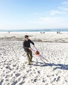 We had a great weekend enjoying some #familytime outdoors! #takemeback to this November trip to beautiful Carmel beach! I clearly 💙 the beach. We had friends over this weekend and one asked me if I liked the beach because of all of the soothing blues and whites and natural textures in our house.  I took it as a compliment because yes, I love the beach! And even if we don't have an actual beach house, why not reflect my #happyplace in the decor? What's your happy place? 😃☀️🌊 #blue #beach…
