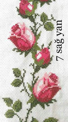 İsim: Görüntüleme: 1317 Büyüklük: KB (Kil… – broderie à la main Cross Stitch Heart, Cross Stitch Borders, Cross Stitch Flowers, Cross Stitch Designs, Cross Stitching, Cross Stitch Embroidery, Hand Embroidery, Cross Stitch Patterns, Embroidery Designs