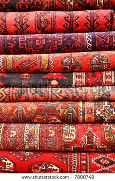 Persian  (or Turkish?) Rugs. Reds!