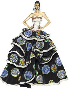 Best fashion design of September 2013 by Eleonora Marchesi Massaro :: Istituto di Moda Burgo