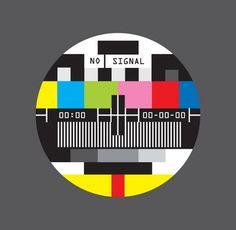no signal tv vector