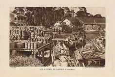 INDOCHINE VIETNAM 1934 - Les Poteries de Laithieu (Cochinchine) | Flickr : partage de photos !