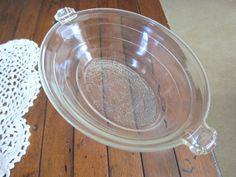 Beautiful Vintage McKee Glasbake Oval Baking Dish by NonisVintageDelights, $12.50