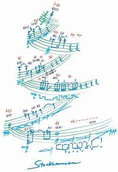 """Stockhausen, """"Die zehn wichtigsten Wörter""""/""""最も大切な10の言葉""""   (Weihnachten / Christmas 1991)"""