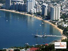 """MONEYBACK MÉXICO. El puerto de Acapulco, conocido como """"la joya del Pacífico"""", es un destino de fama internacional que promete a sus visitantes aventura y relajación. Cuenta con grandes resorts de lujo y una amplia gama de actividades, calidad de los servicios y variada vida nocturna. En Acapulco puedes encontrar un módulo de nuestros servicios de reembolso de impuestos para turistas viajando en México. #moneyback www.moneyback.mx"""