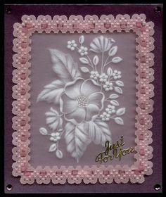 Parchment Craft小品:0735-母親卡for媽咪