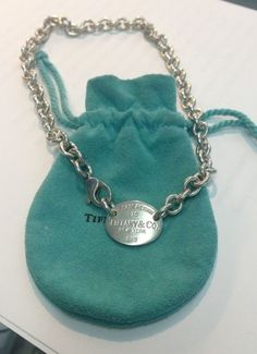 87c20844d Tiffany & Co New York 925 Please Return To Tiffany Chocker 15