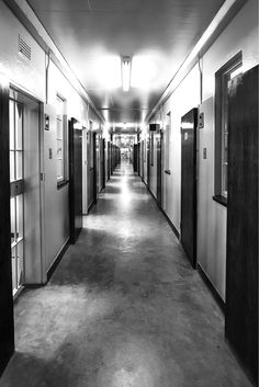 The hallway of the prison Nelson Mandela once walked, a photo I took whilst visiting Robben Island Nelson Mandela, Prison, Africa, Island, Photography, Block Island, Fotografie, Islands, Fotografia