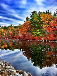 Massabesic Lake in October (photo from Matt Tremain)