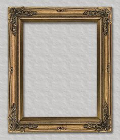 Antique Gold Ornate Readymade Frame Ready for your favorite family portrait, art or mirror.